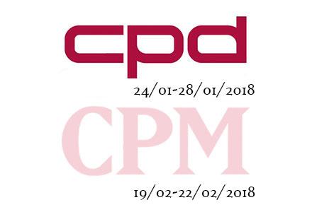 ВЫСТАВОЧНЫЙ КАЛЕНДАРЬ 2018 - CPM - CPD - FW2018/19