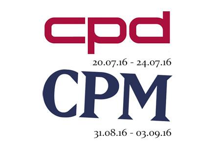 Exhibition calendar 2016 - CPM - CPD - SS2017